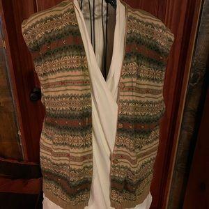 Woolrich sweater vest